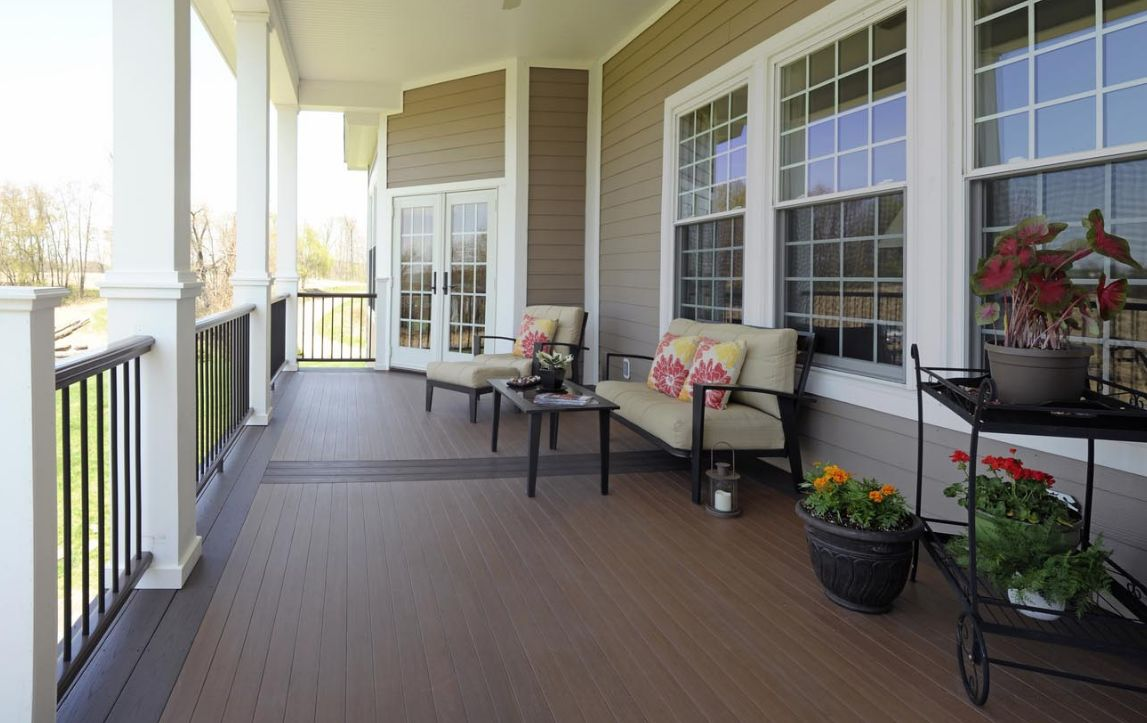 AZEK 20-ft Morado Grooved PVC Deck Board Supplier