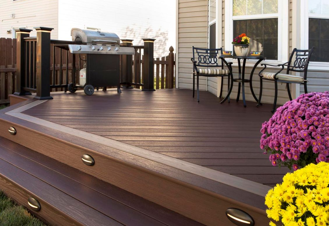 AZEK 16-ft Mountain Redwood Solid PVC Deck Board Supplier