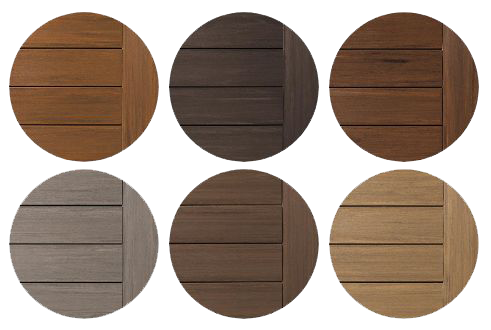 Choose AZEK Decking - vintage Board Colors