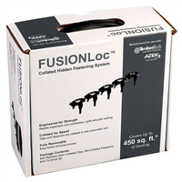 FUSIONLoc 450 SQ. FT. HIDDENFASTENERS, BLACK ( 800 FUSIONLocFASTENERS, 800 SCREWS AND T10DRIVE BIT ) - Wood Supplier & Building Materials | Lumber Yard MA, RI, NY, NH