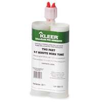 KLEER 22Oml. 2 PART APOXY. 5-7MINUTE. FAST CURE STRUCTUALEXTREME ADHESIVEPVC TRIMWELDER - Building Materials | Builders Supply | Lumber MA, NY, RI, CT
