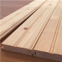 1X6 BEADED PINE PREMIUM (KNOTTY)WITH V-GROOVE REAR FACE - Building Materials | Builders Supply | Lumber MA, NY, RI, CT