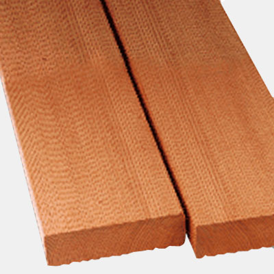 Red Cedar Lumber, Clear Vertical Grain (CVG)