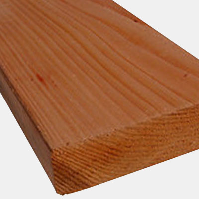 Red Cedar Lumber, C & Better Grade