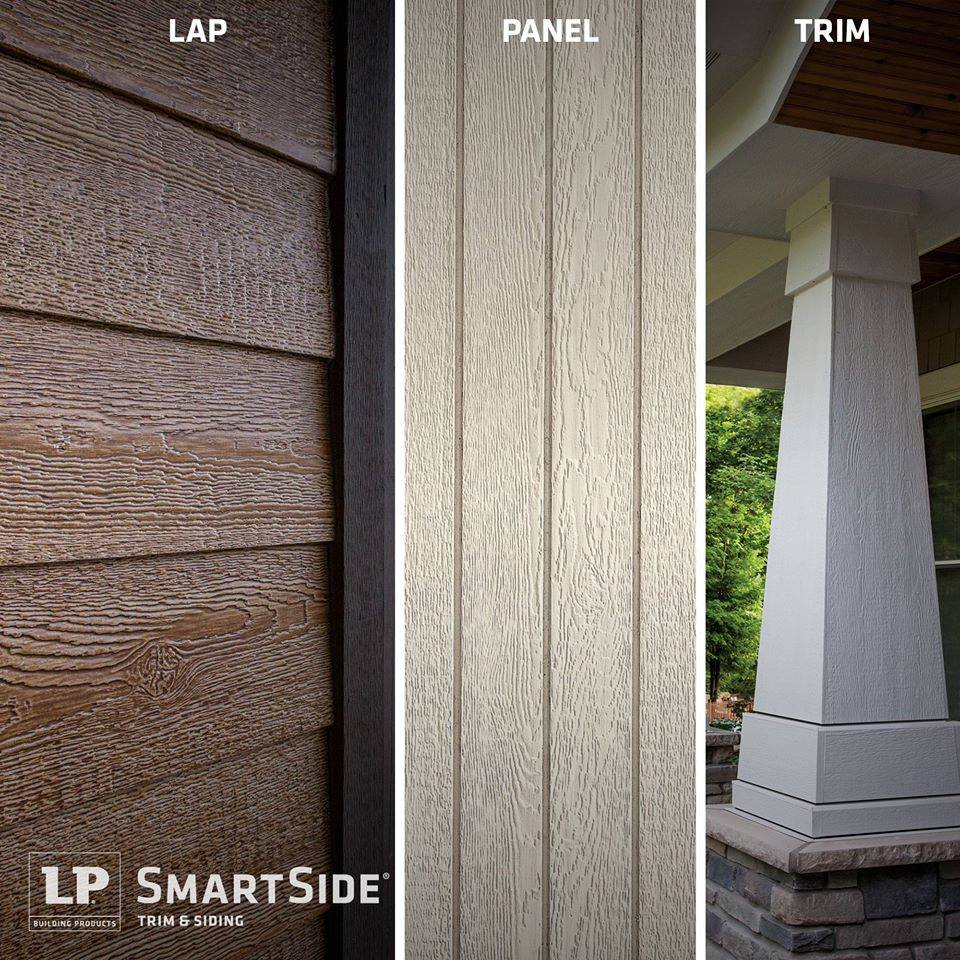 LP SmartSide Siding Lap, Panel, and Trim - MA, NY