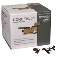 500 SQ FT CONCEAL LOCK HIDDENFASTENER FOR TIMBER TECH/AZEK,PNEUMATIC FASTENER REQUIRED TOINSTALL THESE - Building Materials | Builders Supply | Lumber MA, NY, RI, CT